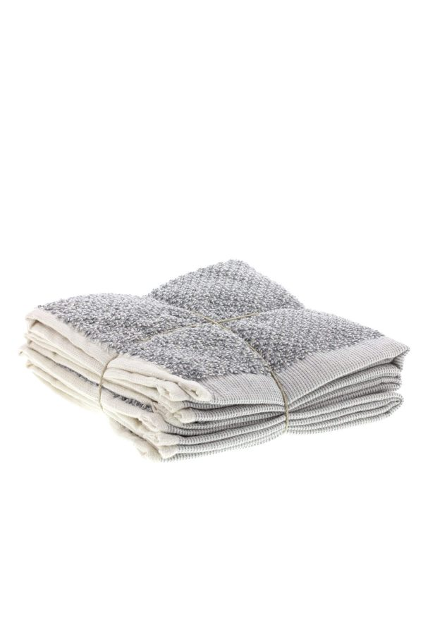 SET OF 3 TOWELS – hand-guest towel-a)110